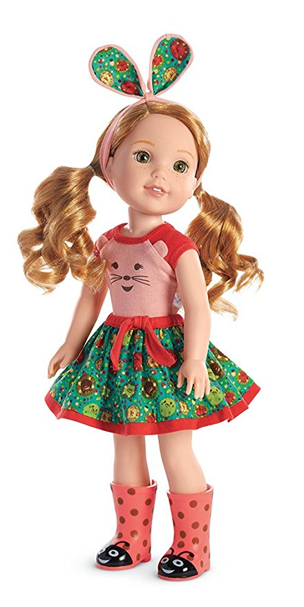 Willa is a favorite American Girl doll with 5-7 year olds #ad