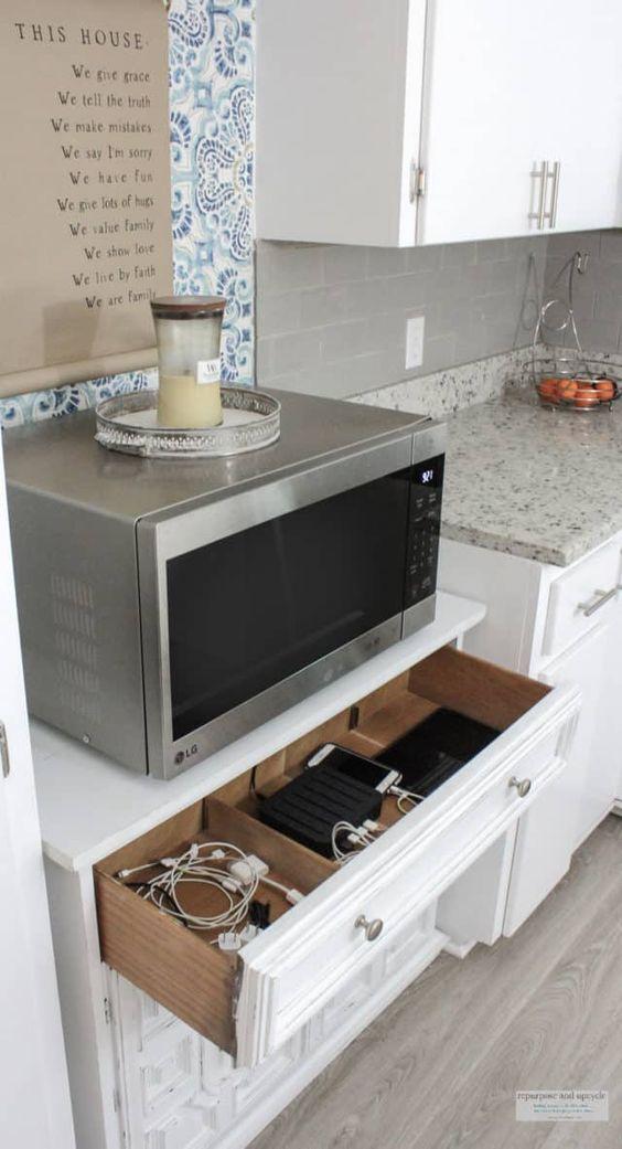 DIY family charging station #DIY