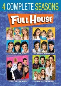 Full House four season DVD package