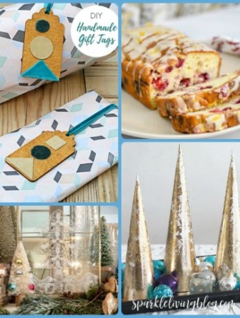 Christmas crafts, recipes and home decor