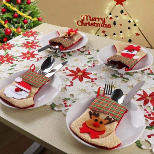 3-D Christmas stocking set #ad