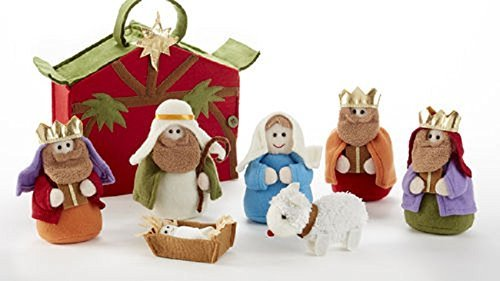Felt nativity toy set #kids #Ad