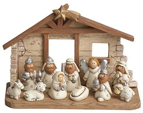 Miniature Nativity Set for kids #ad