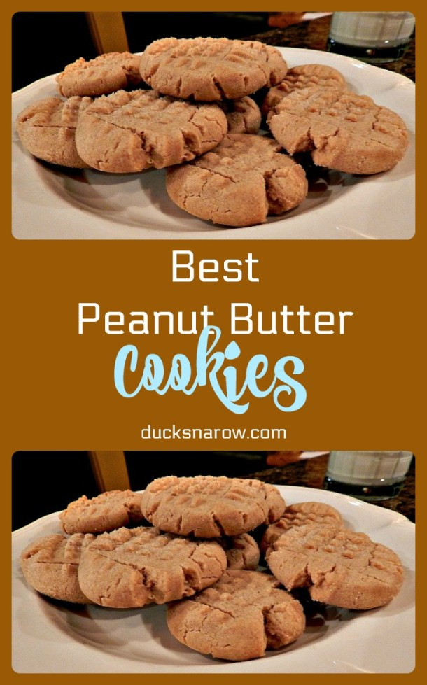 Best ever peanut butter cookies #recipes