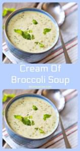 Cream of broccoli soup recipe #comfortfood #soup