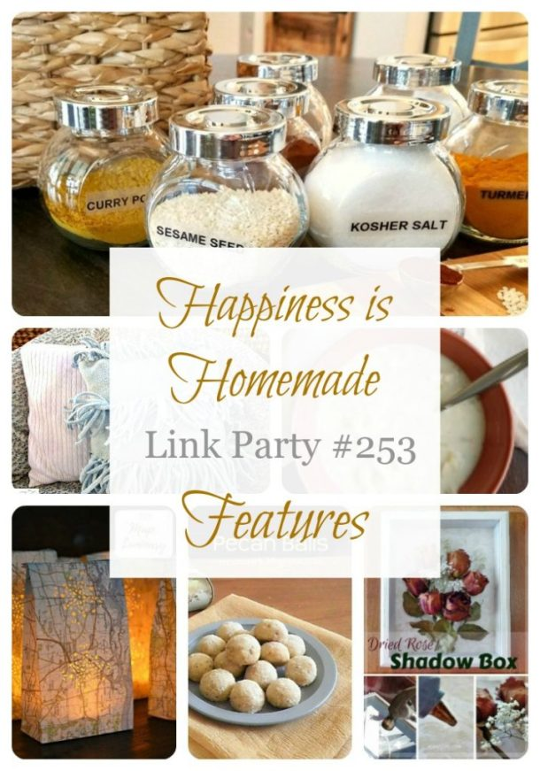 Happiness Is Homemade Link Party 253
