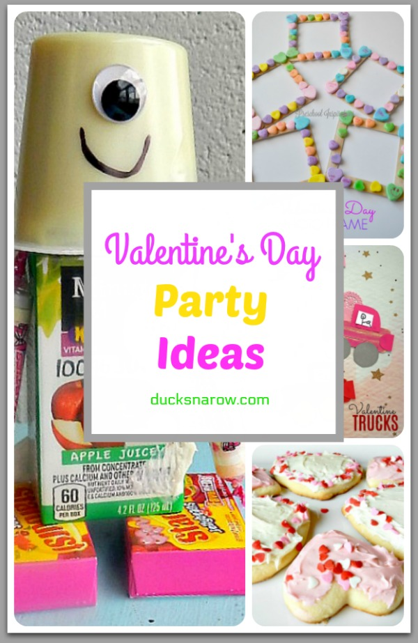 Throw a fun Valentine's Day party for preschoolers and other little kids! #tips