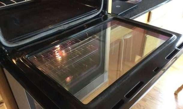Clean oven window #tips
