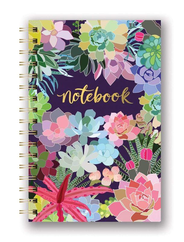Decorative spiral notebooks
