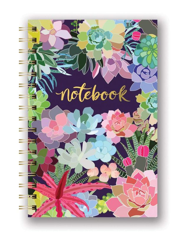 Decorative spiral notebooks