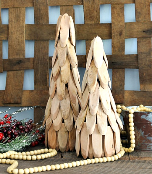 Wooden tree diy