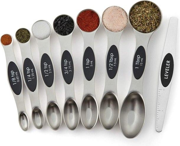 Best selling magnetic measuring spoon set #ad