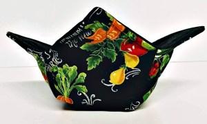 Handmade cozy for microwaving bowls and mason jars #ad