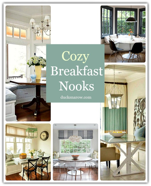 Cozy Modern Homedecor:  Cozy Breakfast Nook Ideas