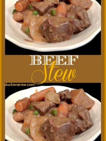Classic slow cooker beef stew #recipe