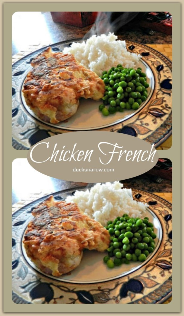 This is the best Chicken French recipe you will ever make - it is awesome! #chicken #recipes