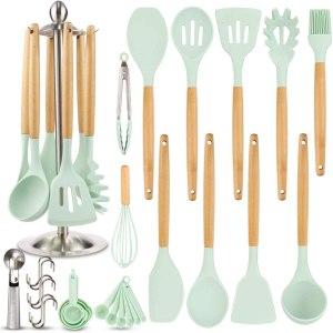 Silicon kitchen utensils for gift basket #ad