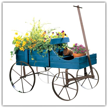 Amish wagon for garden or indoor use #homedecor