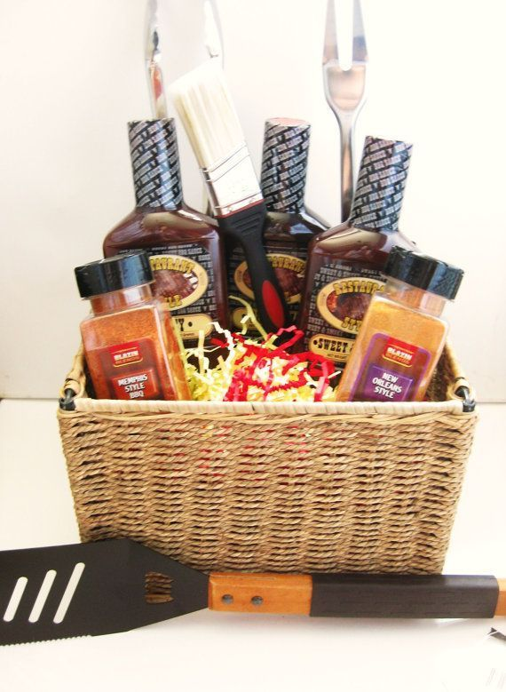 Gift baskets for grill lovers #bbq