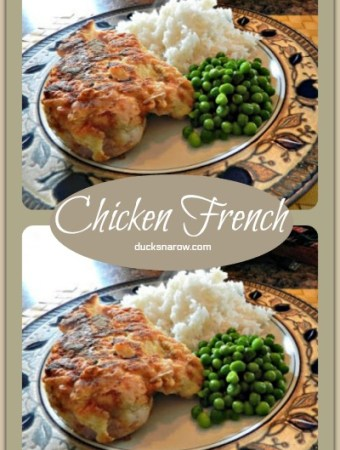 Chicken French - best recipe ever! #recipes