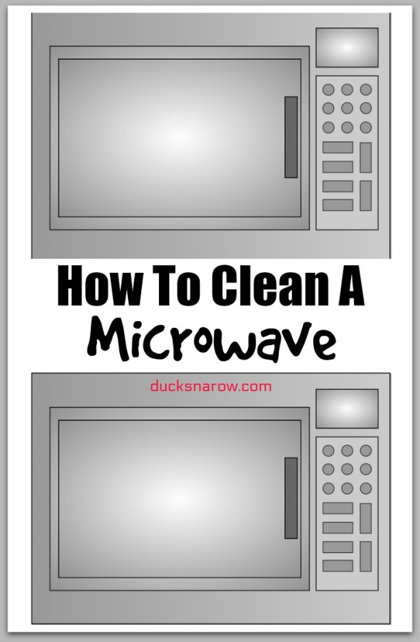 How to clean a microwave till it shines! #tips #cleaning