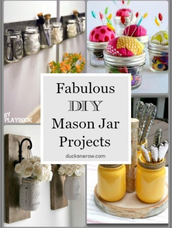 Mason jar crafts #DIY