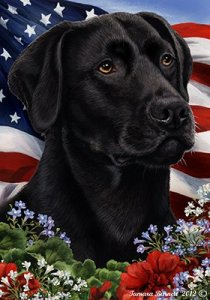 Best of Breed Black Labrador Retriever Dog Patriotic Flag #ad
