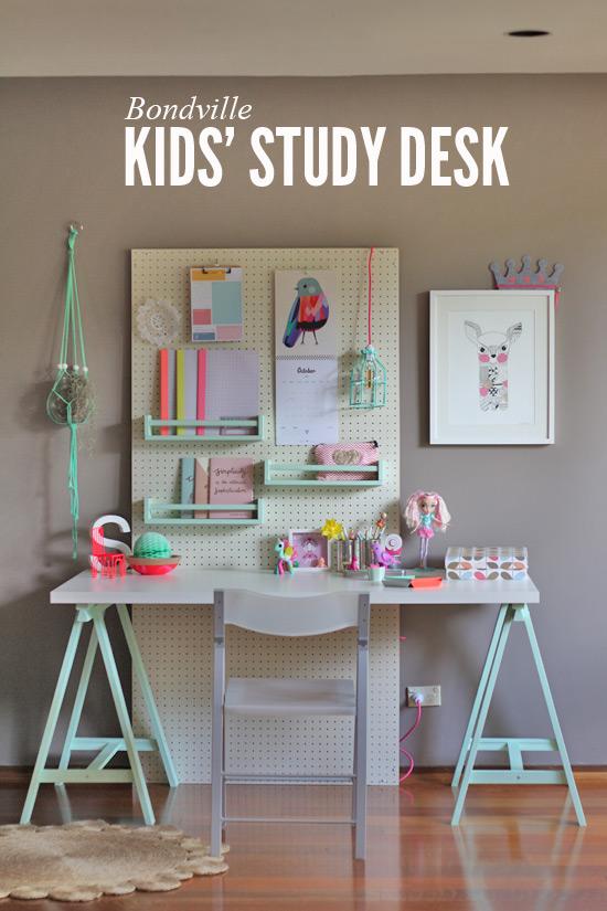 Kids study space #DIY