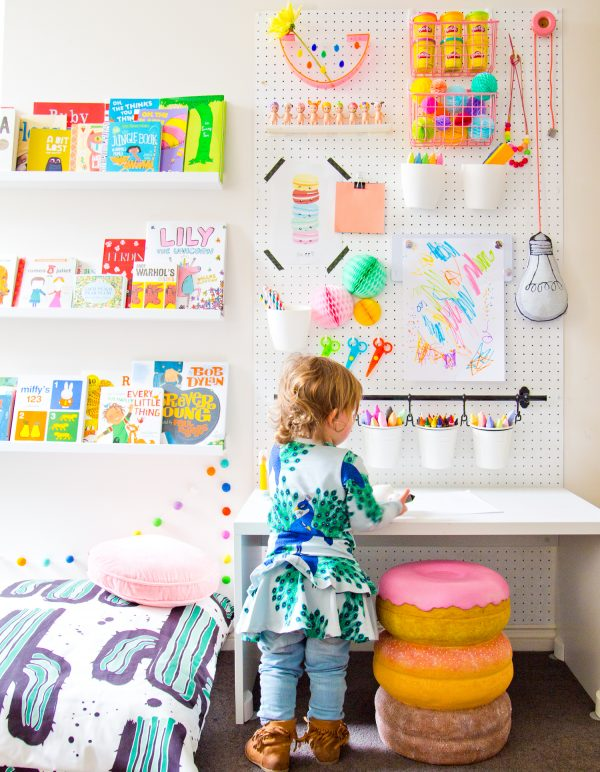 Craft and desk center for #kids