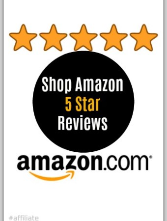 Shop Amazon by using filters like 5 star reviews #ad #tips