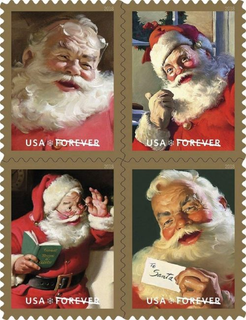 Holiday USPS FOREVER stamps #ad