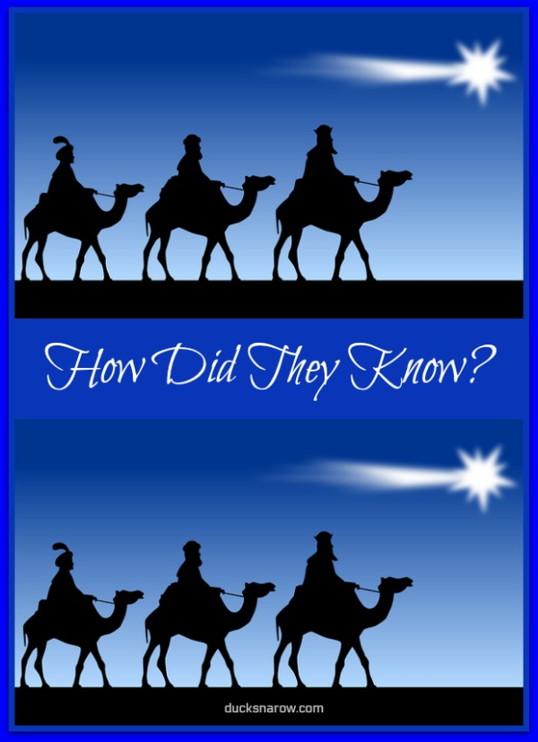 How did the wisemen know to look for baby Jesus #faith
