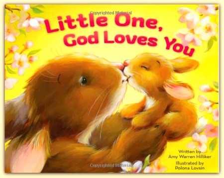 Children's book: Little One, God Loves You #ad
