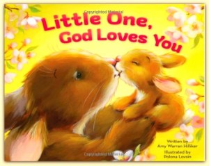 Sweet little storybook called Little One, God Loves You #ad
