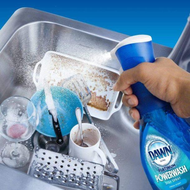 Dawn Platinum Powerwash Spray for dishes #ad