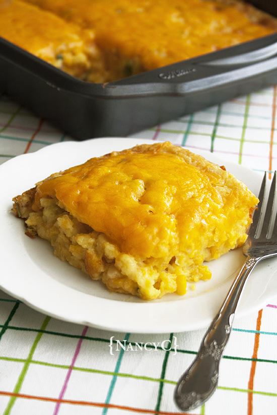 Cheesy Corn Casserole from Nancy C