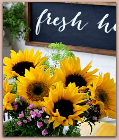 Sunflower home decor
