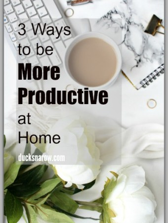 How to improve your productivity when working from home