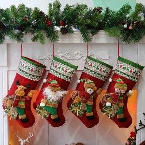 3-D Christmas Stockings #ad
