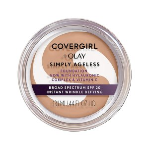 Covergirl Olay Simply Ageless Foundation Cream Makeup #ad