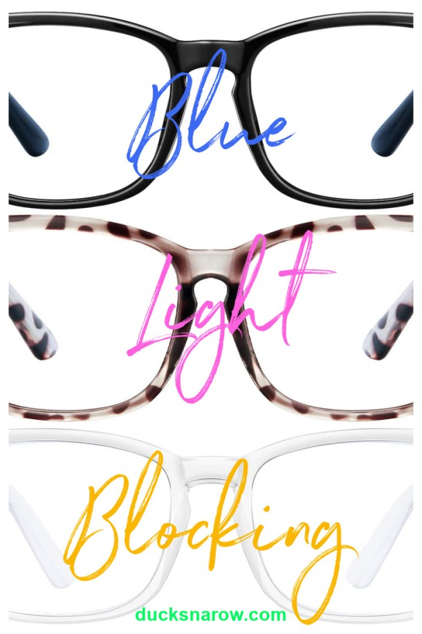 Blue light blocking glasses #healthylliving