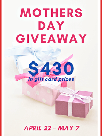 Enter the Mothers Day Gift Card Giveaway 2021
