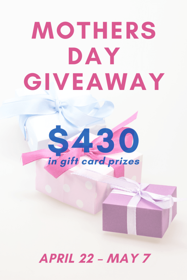 Mothers Day Giveaway 2021