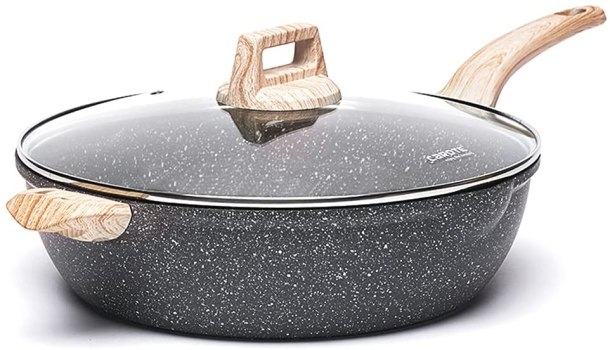 Carote large non stick skillet with lid