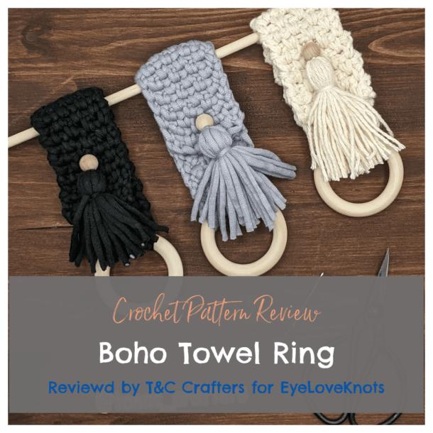 Boho Towel Ring DIY