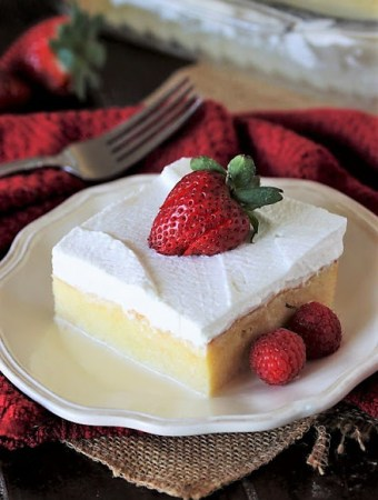 Three milks cake