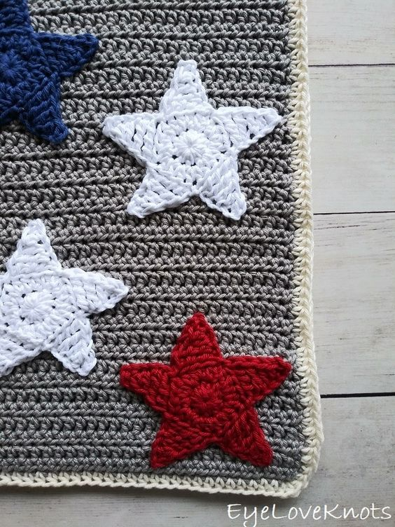 How to crochet a star towel