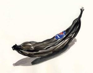 Vertrocknete Banane