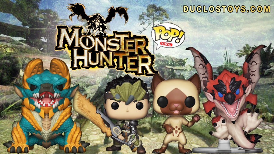 Duclos Toys   Action Figures   Collectibles   Geek Toys      Funko Pop     Duclos Toys Funko Pop Games Monster Hunters