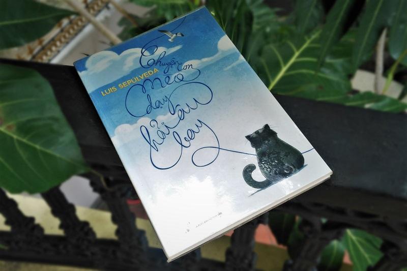 đức ngộ không review sách chuyện con mèo dạy hải âu bay